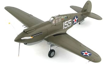 P-40B Warhawk Model, Kenneth Taylor - Hobby Master HA9202 - click to enlarge
