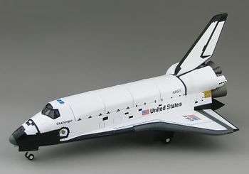Space Shuttle Challenger Model, STS-51L - Hobby Master HL1407 - click to enlarge