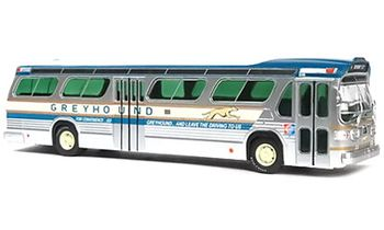 GM TDH-5301 New Look Bus Model, Greyhound- Iconic Replica 43-0260 - click to enlarge