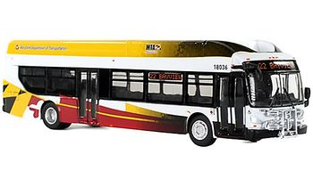 New Flyer Xcelsior Bus Model: Baltimore - Iconic Replicas 87-0132 - click to enlarge