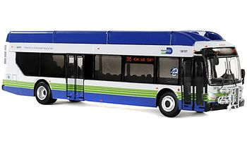 New Flyer Xcelsior Bus Model: Miami-Dade - Iconic Replicas 87-0134 - click to enlarge