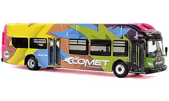 New Flyer Xcelsior Bus Model: Columbia, SC - Iconic Replicas 87-0135 - click to enlarge