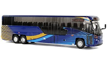 MCI D45 CRT LE Coach Model: New York City - Iconic Replicas 87-0136 - click to enlarge