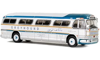 GM PD-4104 Coach: Greyhound, Baltimore - Iconic Replica 87-0145 - click to enlarge