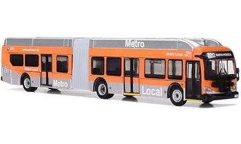 New Flyer Xcelsior XN60 Bus: Los Angeles - Iconic Replicas 87-0163 - click to enlarge