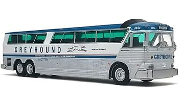 MCI MC-7 Coach Model: Greyhound, Phoenix - Iconic Replicas 87-0182 - click to enlarge