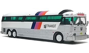 MCI MC-7 Coach Model: NJ Transit - Iconic Replicas 87-0184 - click to enlarge