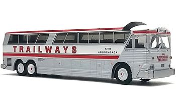 MCI MC-7 Coach Model: Trailways - Iconic Replicas 87-0187 - click to enlarge