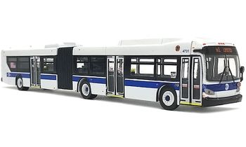 New Flyer Xcelsior XD60 Bus: New York City - Iconic Replicas 87-0194 - click to enlarge