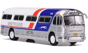 "GM PD-4104 Coach, Greyhound ""Pepsi"" Scheme - Iconic Replicas 87-0208 - click to enlarge"