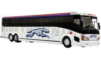 MCI D4505 Coach Model: Greyhound Canada - Iconic Replicas 87-0219 - click to enlarge