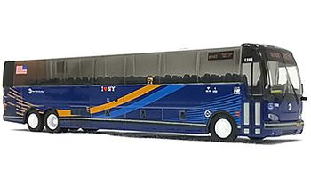 Prevost X3-45 Coach: New York City - Iconic Replicas 87-0224 - click to enlarge