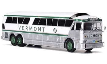 MCI MC-7 Coach Model: Vermont Transit - Iconic Replicas 87-0256 - click to enlarge