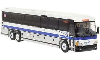 MCI D4505 Coach Model, New York City - Iconic Replicas 87-0273 - click to enlarge