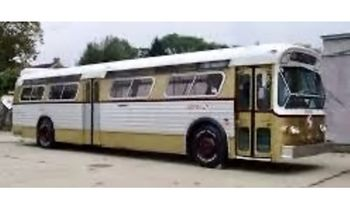 Flxible 53102 Bus Model, Philadelphia- Iconic Replicas 87-0290 - click to enlarge