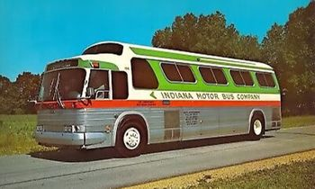 GM PD-4107 Coach, Indiana Motor Bus Co. - Iconic Replicas 87-0291 - click to enlarge