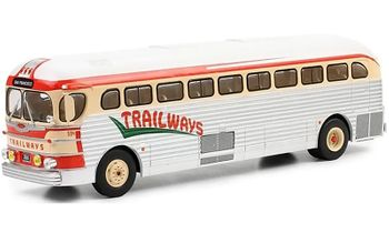 GMC PD-3751 Coach Model, Trailways - IXO BUS015 - click to enlarge