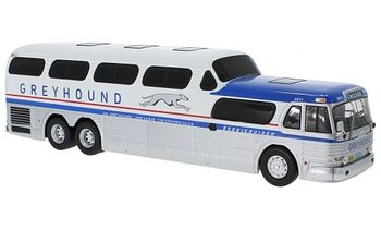 GMC PD-4501 Greyhound Scenicruiser Model - IXO BUS027LQ - click to enlarge