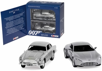 Aston Martin DB10 & DB5 Models, James Bond: SPECTRE - Corgi CC08099 - click to enlarge