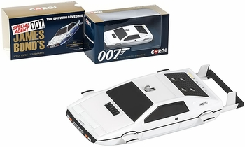 Lotus Esprit Model, James Bond: Spy Who Loved Me - Corgi CC04513 - click to enlarge