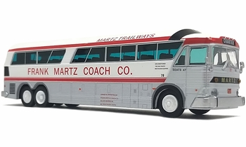 MCI MC-7 Coach Model, Martz Trailways - Iconic Replicas 87-0255 - click to enlarge