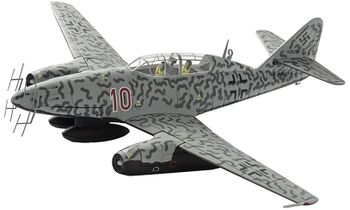 Me 262B-1A Model, Luftwaffe, 10./ NJG 11, Kurt Welter - Corgi AA35709 - click to enlarge