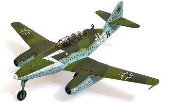 Me 262B Trainer Model, Luftwaffe, 1./KG(J) 53 - Corgi AA35708 - click to enlarge