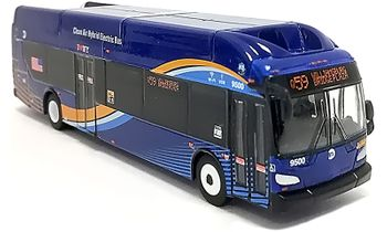 New Flyer Xcelsior Bus Model: New York City - Iconic Replicas 87-0193 - click to enlarge