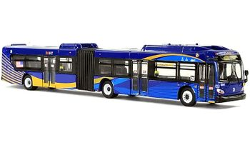 New Flyer Xcelsior XD60 Bus: NYC - Iconic Replicas 87-0140 - click to enlarge