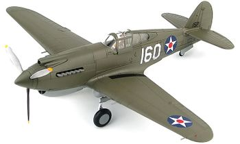 P-40B Warhawk Model, USAAF George Welch - Hobby Master HA9201 - click to enlarge