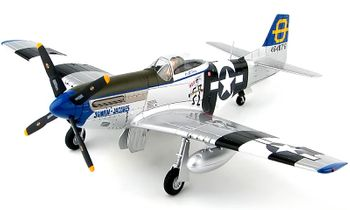 P-51D Mustang Model, USAAF, 3rd FS - Hobby Master HA7740 - click to enlarge