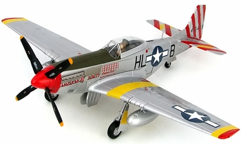 """P-51D Mustang, USAAF, """"American Beauty"""" - Hobby Master HA7739 - click to enlarge"""