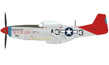 P-51K Mustang Model, USAAF 99th FS - Hobby Master HA7745 - click to enlarge