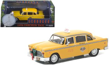 Scrooged 1978 Checker Taxi 1:43 Diecast Model - GreenLight - click to enlarge