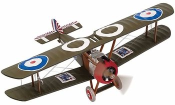 Sopwith Camel F.1 Model, RNAS, Lloyd Breadner - Corgi AA38109 - click to enlarge