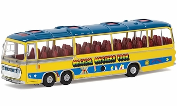The Beatles Magical Mystery Tour Bus Diecast Model - Corgi CC42418 - click to enlarge
