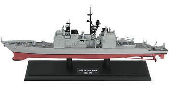 USS Ticonderoga (CG-47) Model, U.S. Navy - Hobby Master HSP1001 - click to enlarge