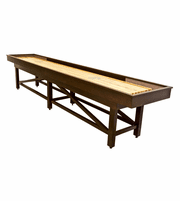 12' Champion Sheffield Wood Shuffleboard Table