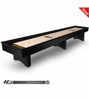 12' Hudson Commercial Shuffleboard Table