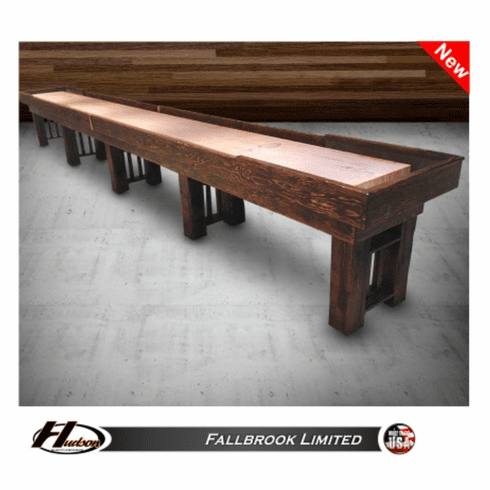 12' Hudson Fallbrook Limited Shuffleboard Table