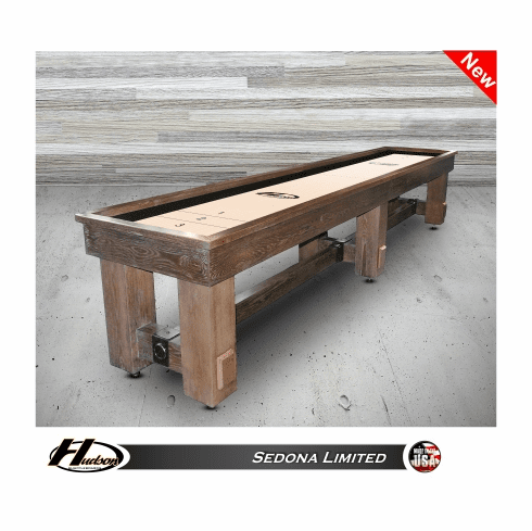 22' Hudson Sedona Limited Shuffleboard Table