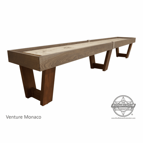 12' Venture Monaco Shuffleboard Table