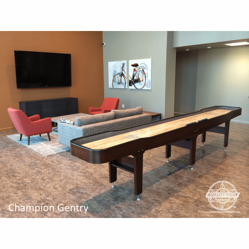 14' Champion Gentry Shuffleboard Table