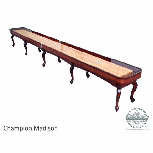 14' Champion Madison Shuffleboard Table
