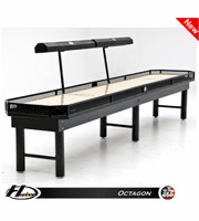14' Hudson Octagon Shuffleboard Table