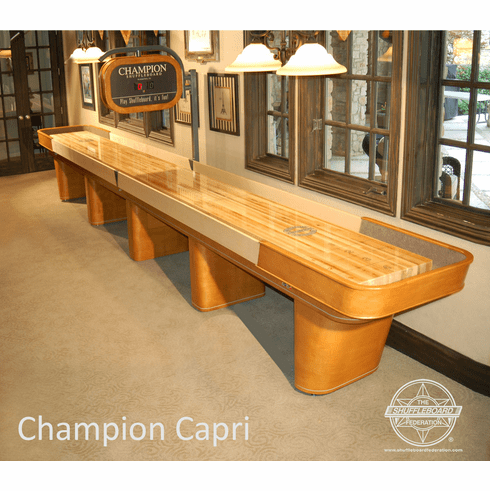 16' Champion Capri Shuffleboard Table