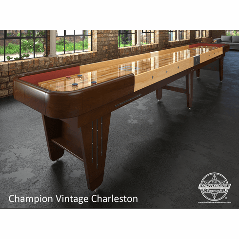16' Champion Vintage Charleston Shuffleboard Table