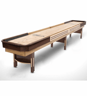 16' Grand Hudson Deluxe Hybrid Shuffleboard Table