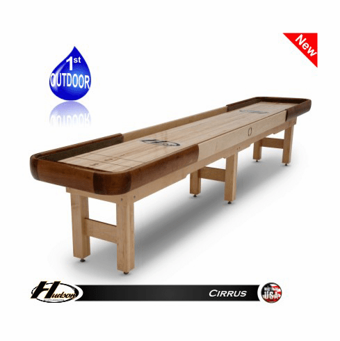 16' Hudson Cirrus Shuffleboard Table