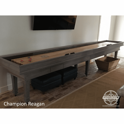 18' Champion Reagan Shuffleboard Table
